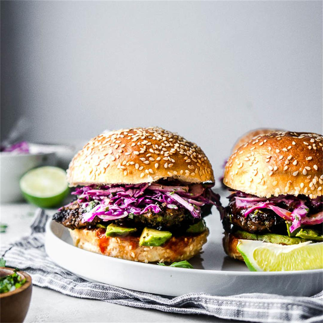 Jerk Chicken Sandwiches