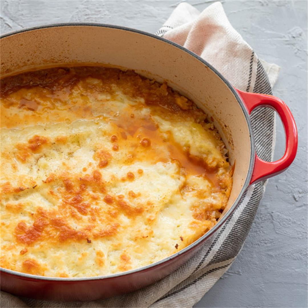 Easy Weeknight Lamb Shepherd's Pie