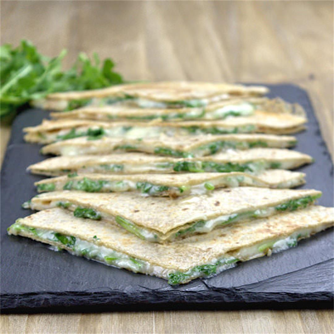 Taleggio Arugula Tortilla Panini – A Gourmet Food Blog
