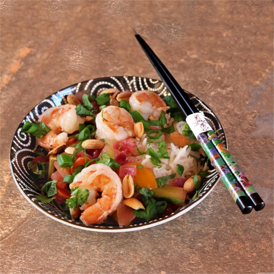 Shrimp Thai Basil Stir-Fry