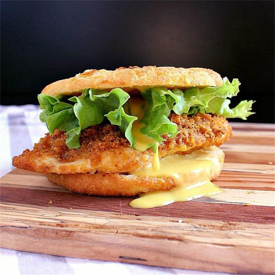 Crispy Keto Chicken Burger