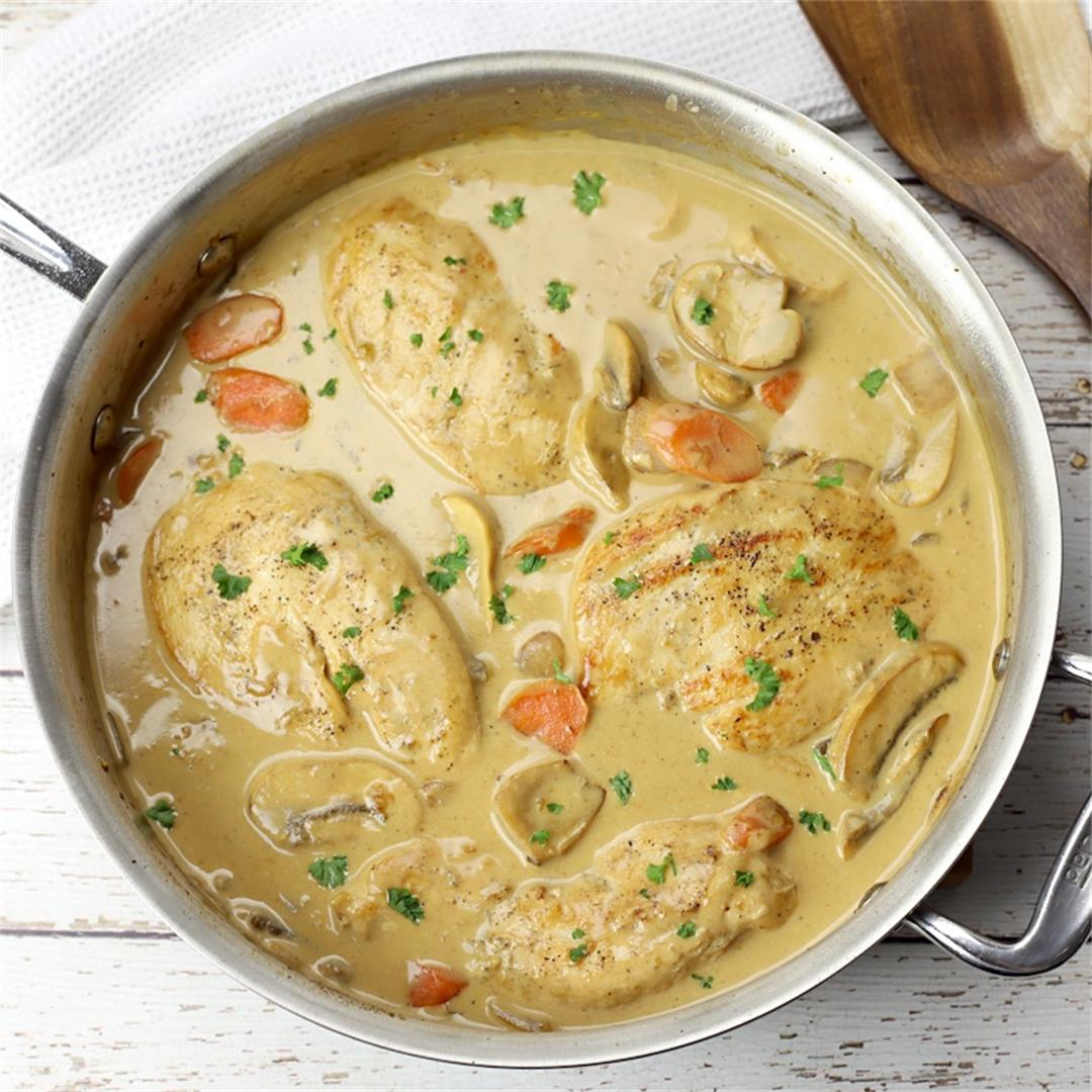 Quick Chicken Fricassee