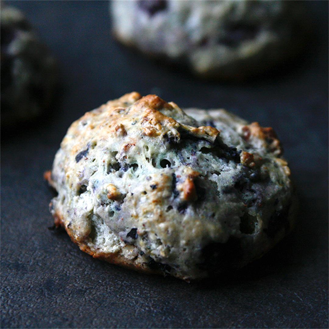 Blueberry Pecan Scones