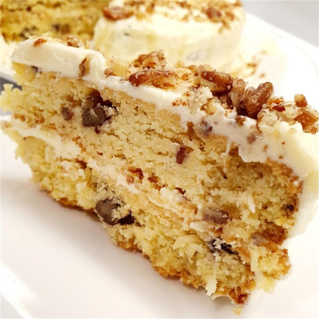 Keto Maple Cream Cake