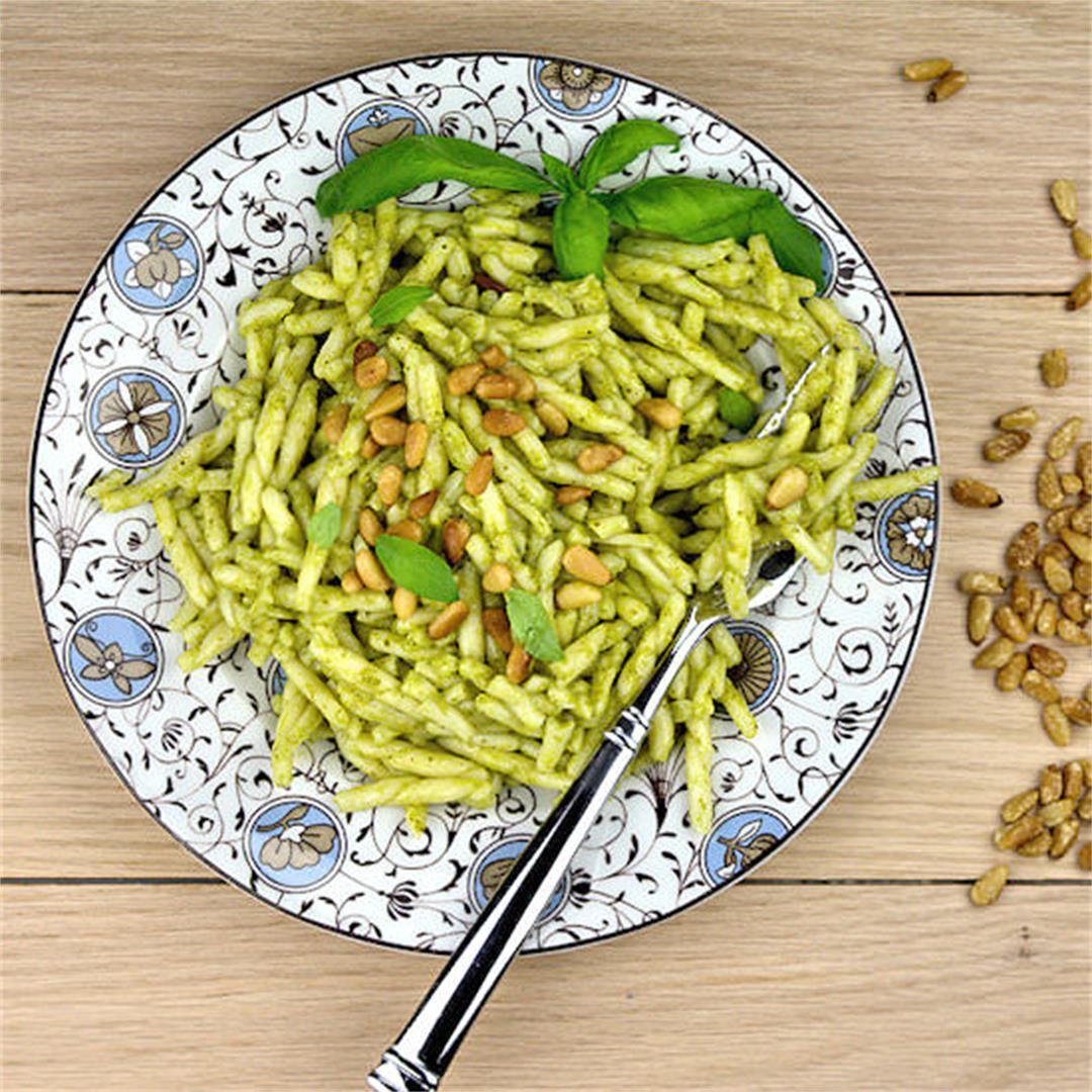 Trofie Pasta Genovese – A Gourmet Food Blog