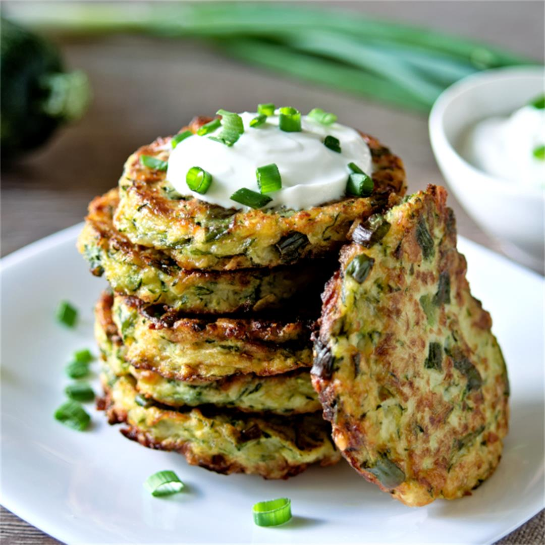 Easy Zucchini Fritters (Step by Step Recipe)