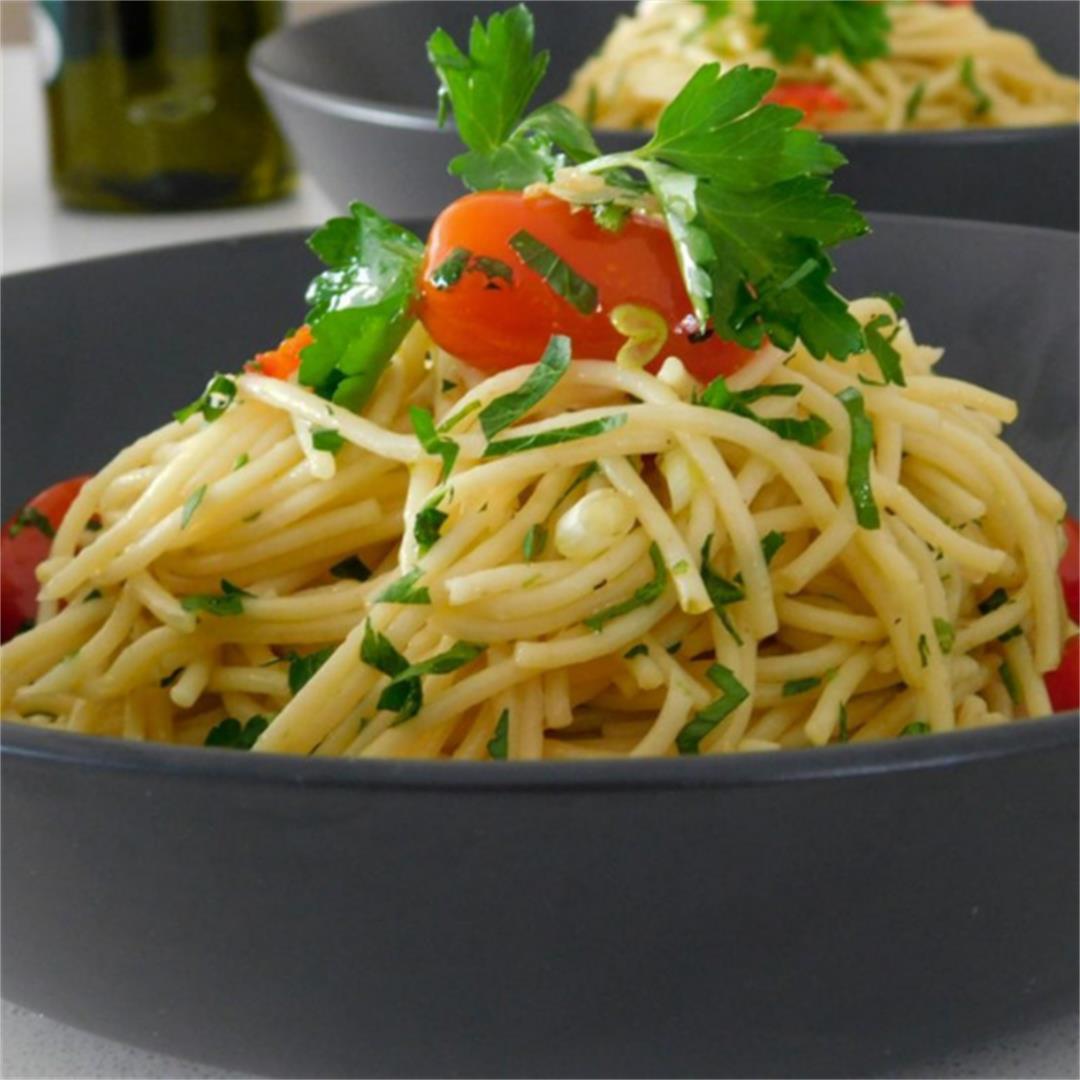 The Deliciousness of Simplicity Spaghetti Aglio E Olio