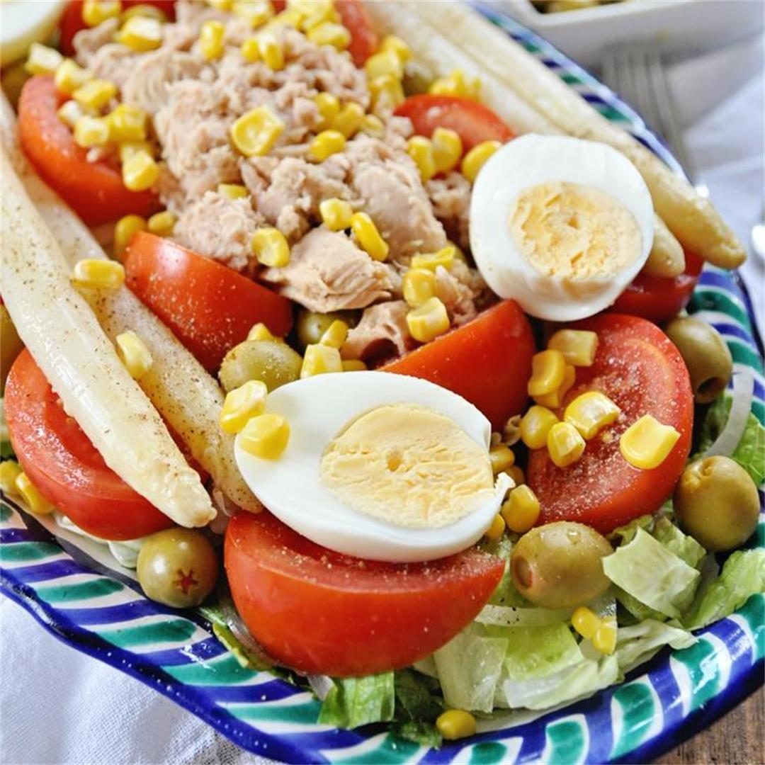 Authentic ¨Ensalada Valenciana¨ Salad Recipe from Valencia