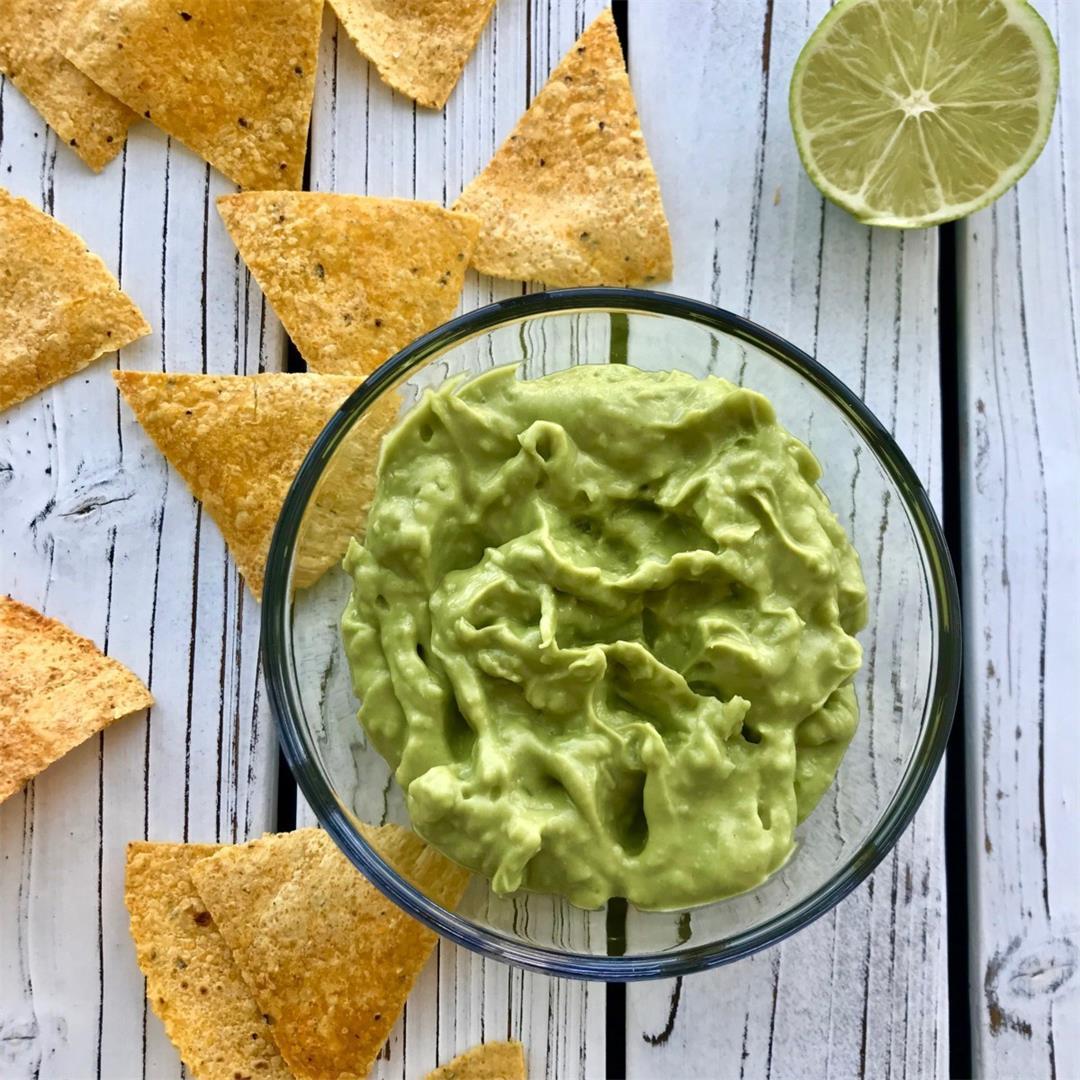 Healthy Guacamole Recipe (Vegan)