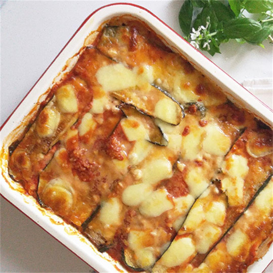 Grilled Zucchini Parmesan Recipe
