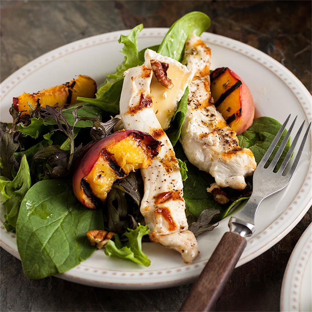 Warm Chicken and Brie Salad