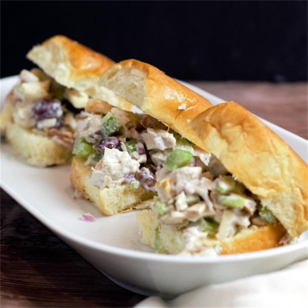 Waldorf Chicken Salad Recipe: Another Amazing Leftover Makeover