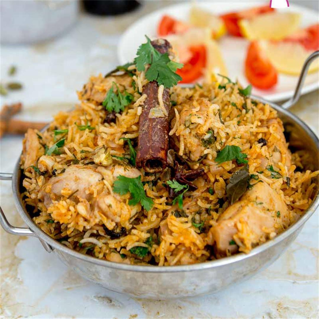 One-Pot Chicken Biryani