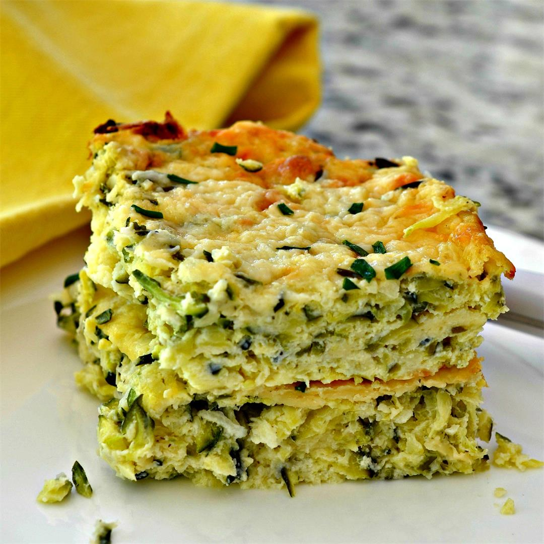 Zucchini Casserole Low Carb and Keto Friendly