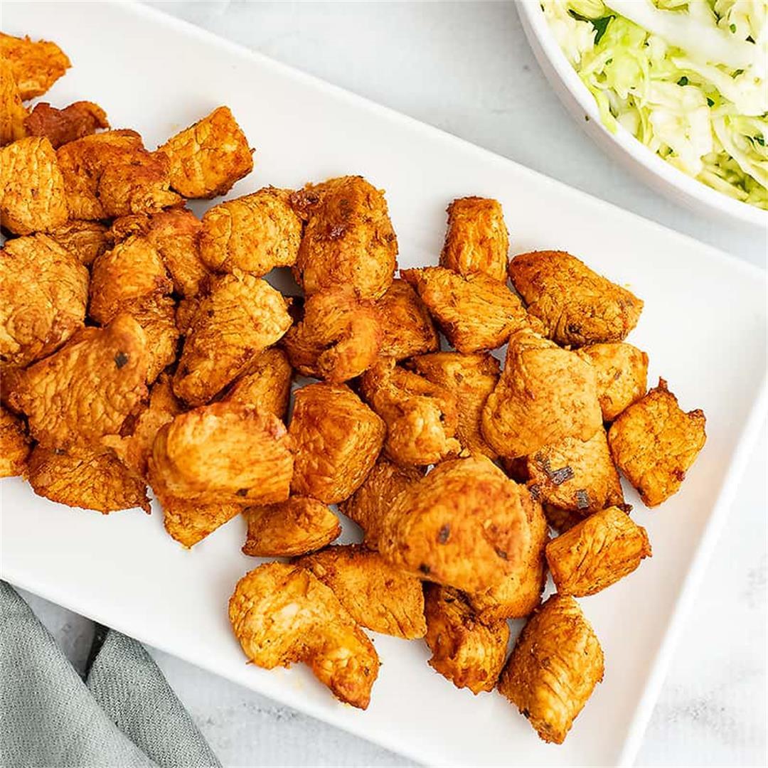 10 Minute Skillet Chicken Taco Recipe