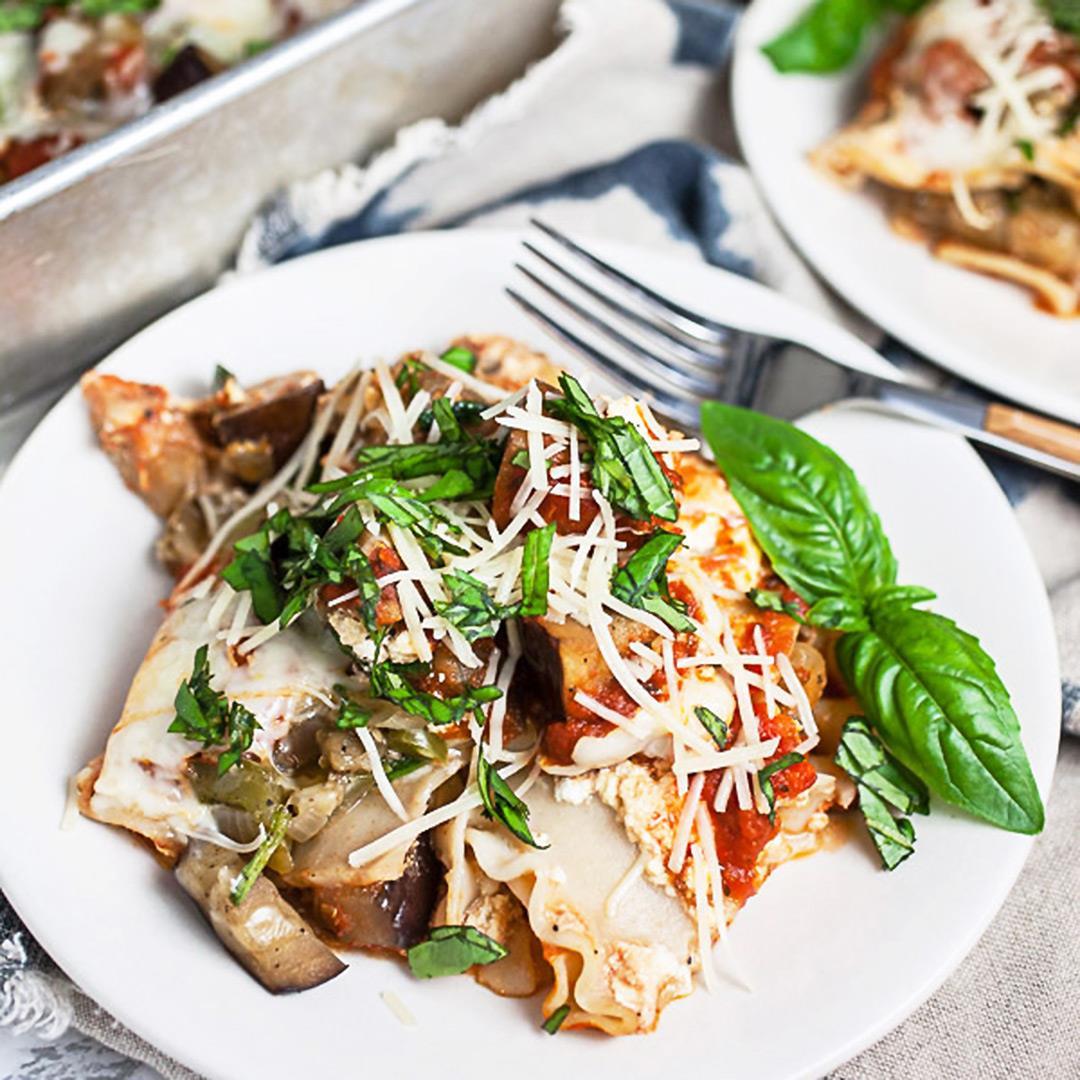 Garden Fresh Vegetable Lasagna