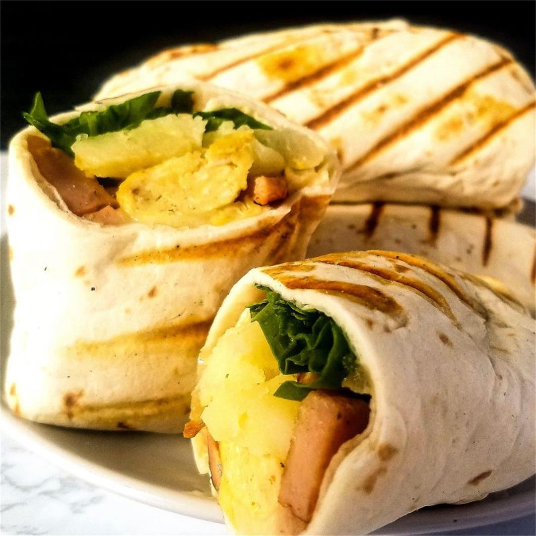 Meal Prep Breakfast Burritos