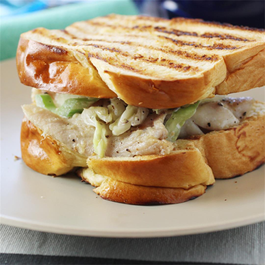 New England Fish Sandwich by Martha Stewart