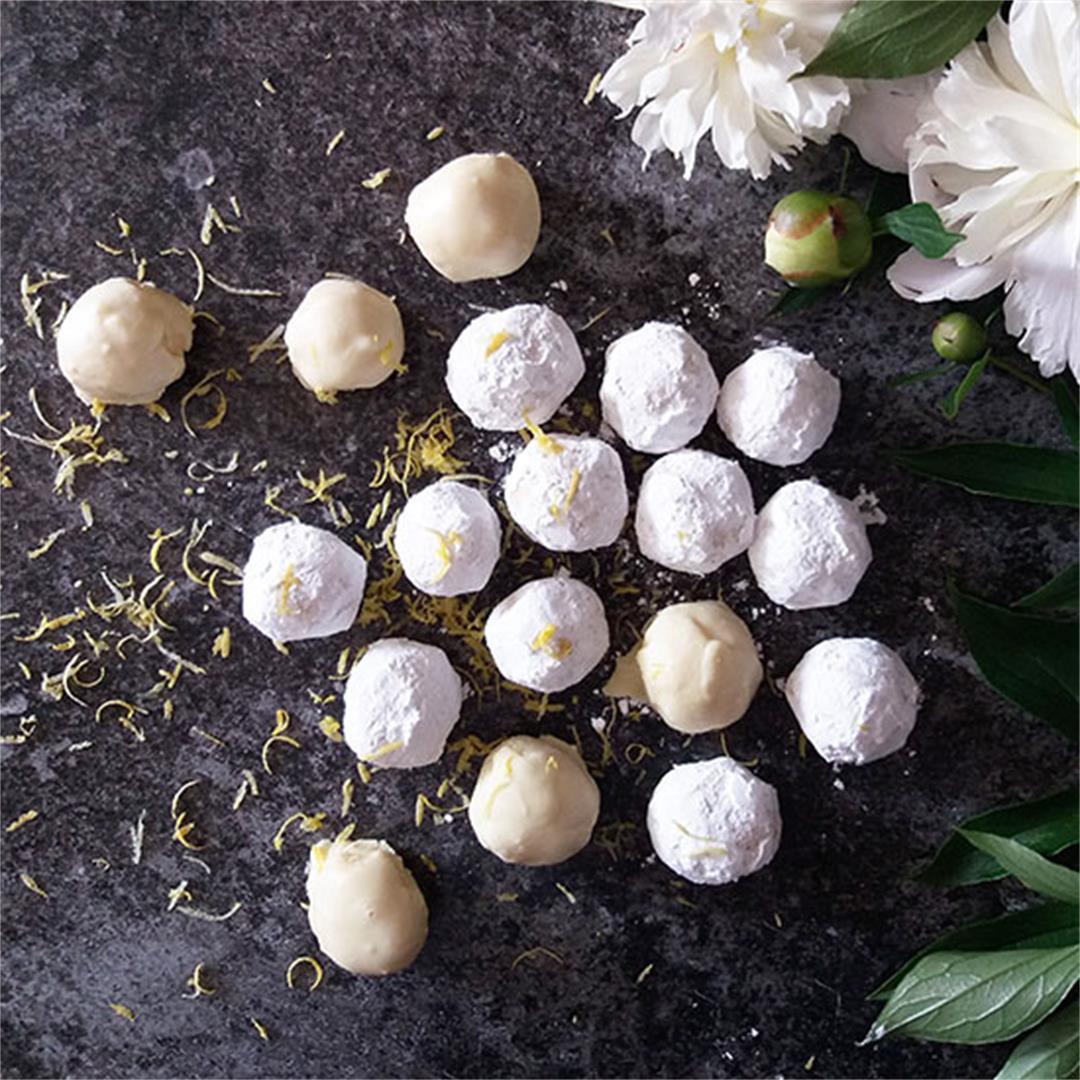 Limoncello Truffles