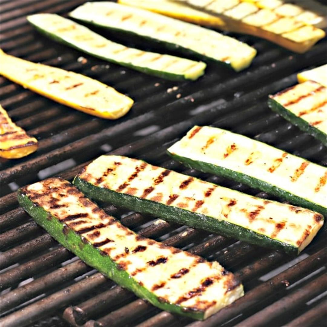 Grilled Zucchini Recipe + 5 Tasty Ways to Use It