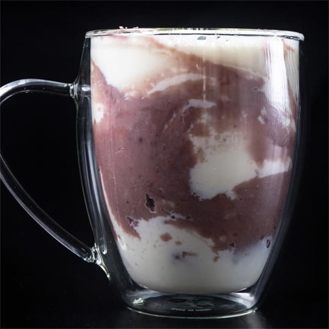 Instant Pot Creamy Sweet Taro Milk (香濃芋頭鮮奶)