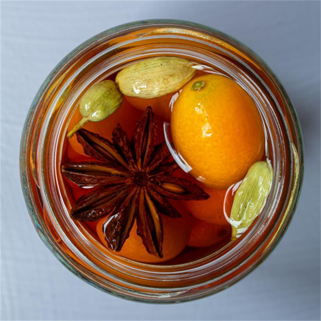 Cumquat brandy