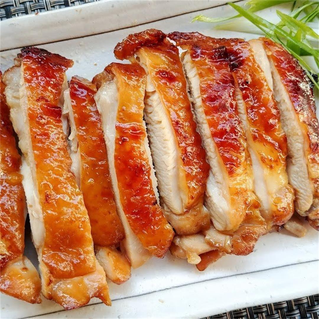Teriyaki Marinated Chicken Thighs