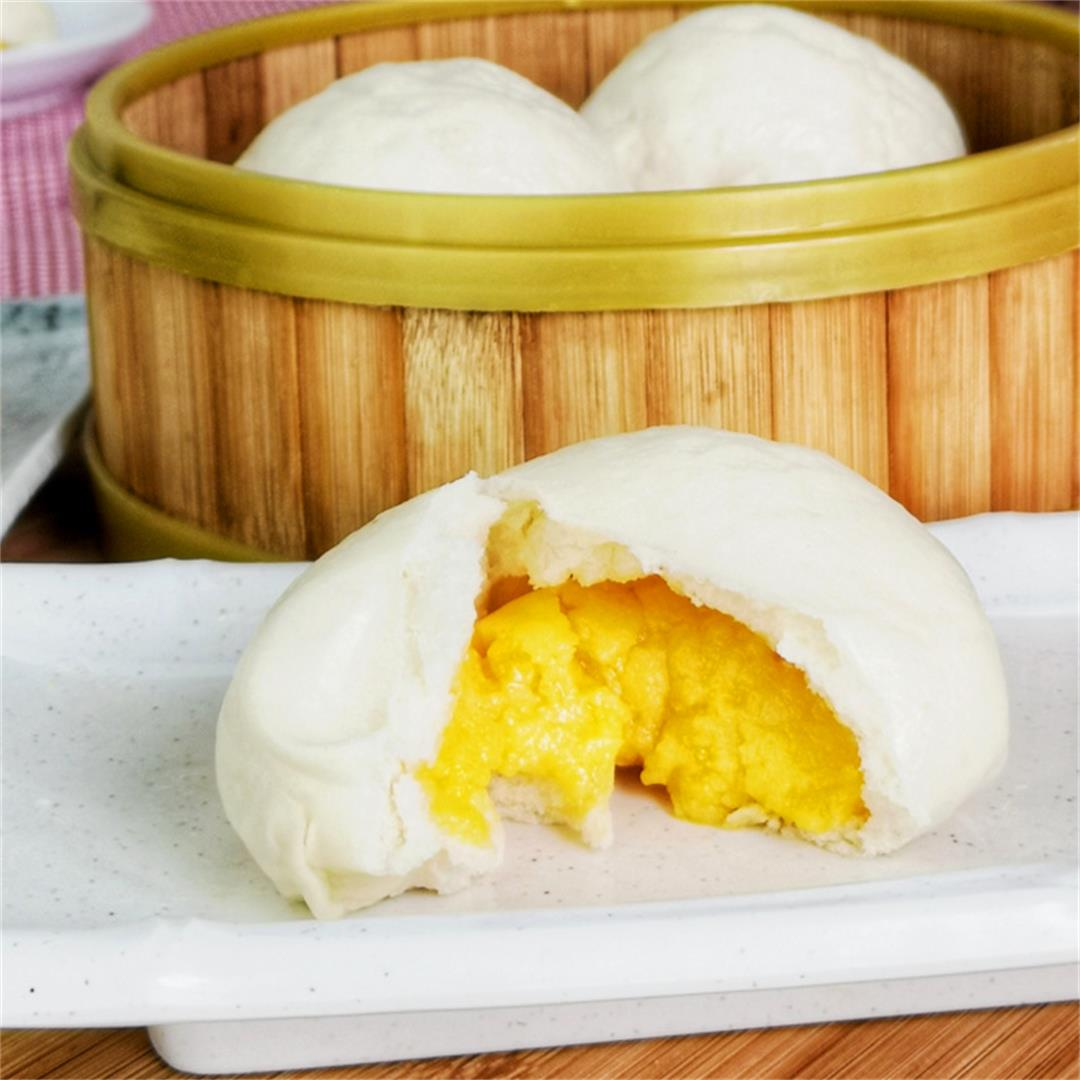 Liu Sha Bao- How to make this wonderful dessert with salted egg