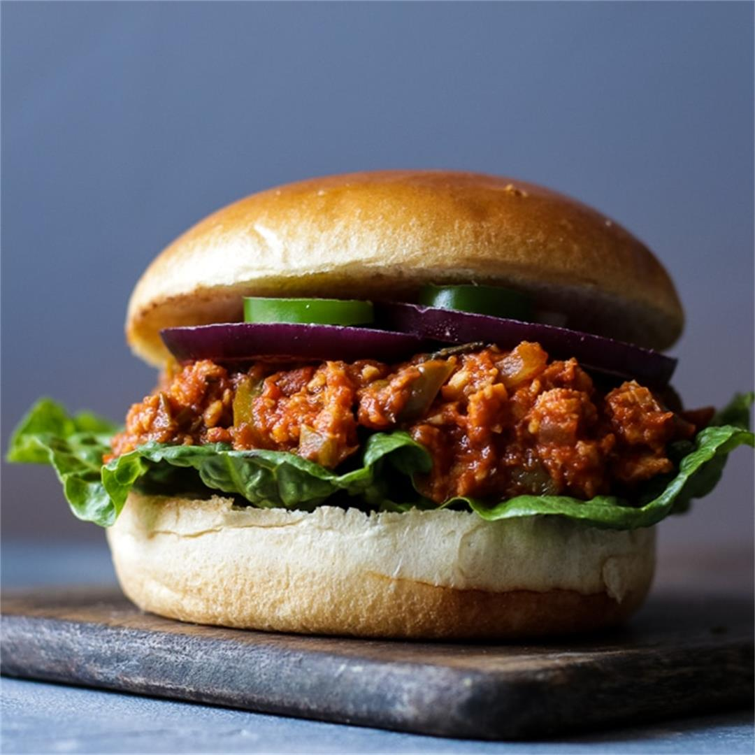 Perfect Vegan Sloppy Joes