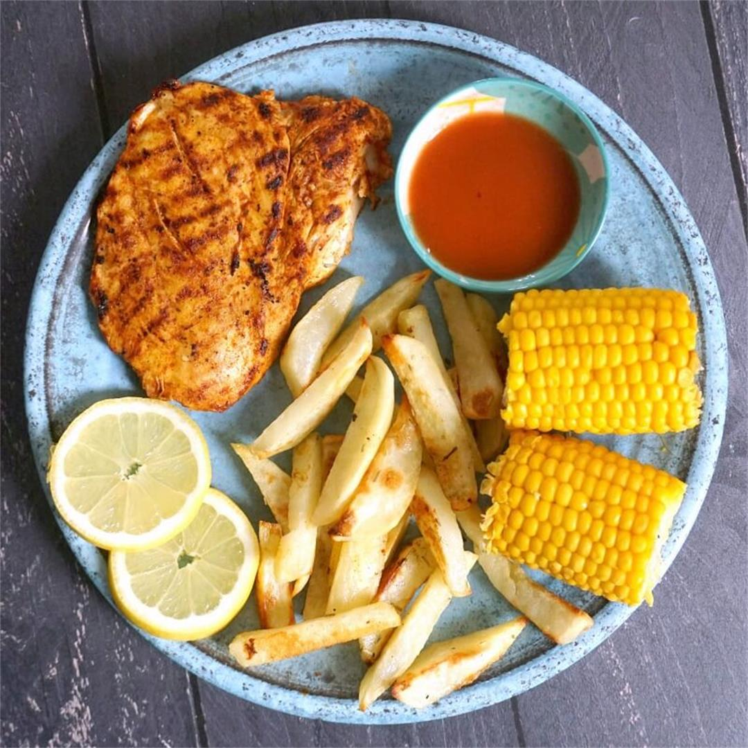 Nando's Style Peri-Peri Butterfly Chicken Breast