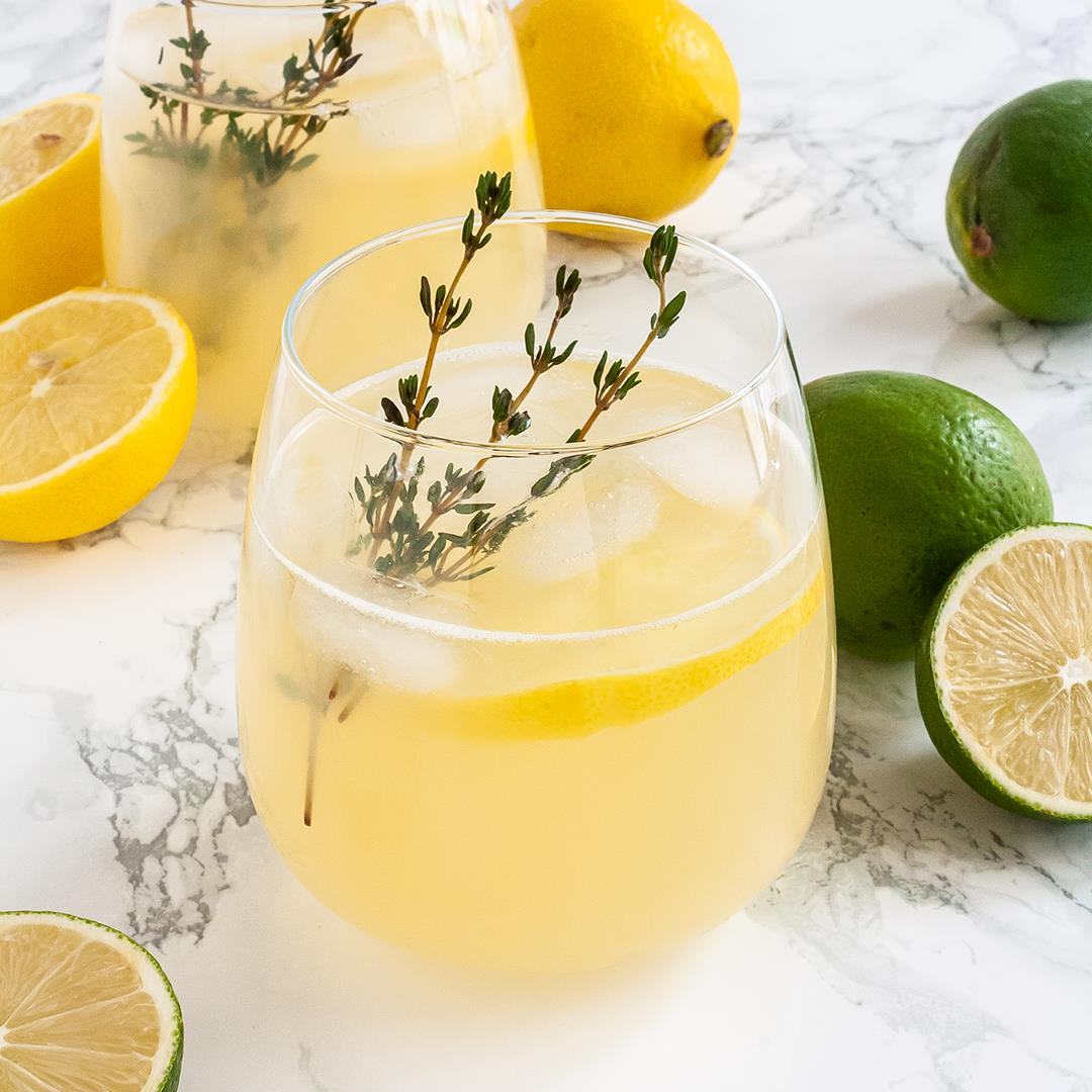 Homemade Electrolyte Lemonade