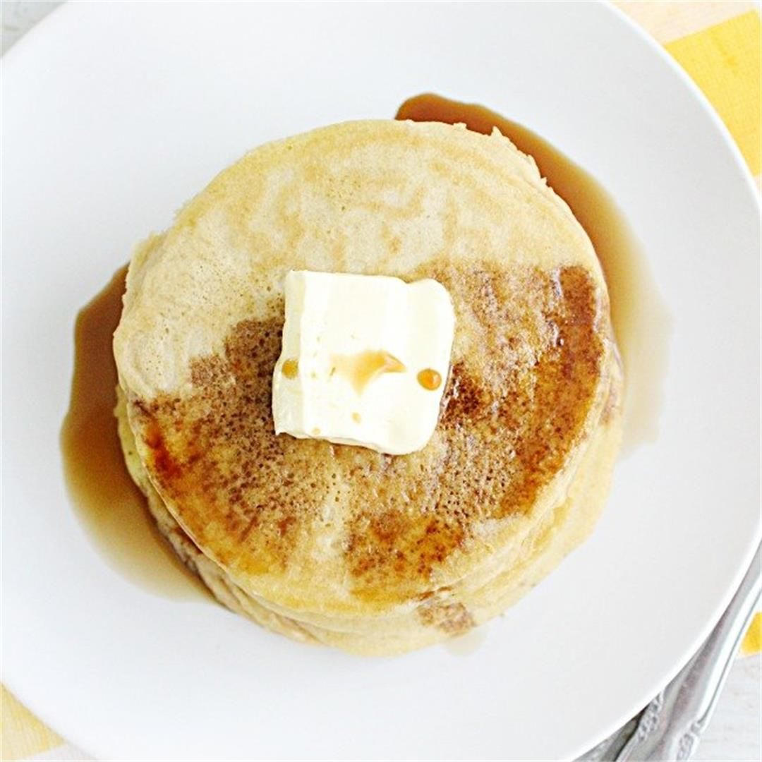 Fluffy Blender Pancakes
