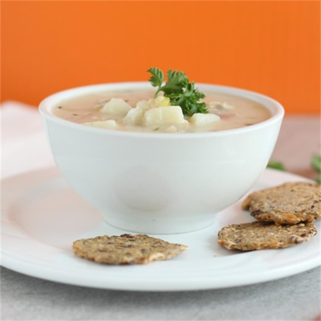 Healthy, Gluten-Free Clam Chowder