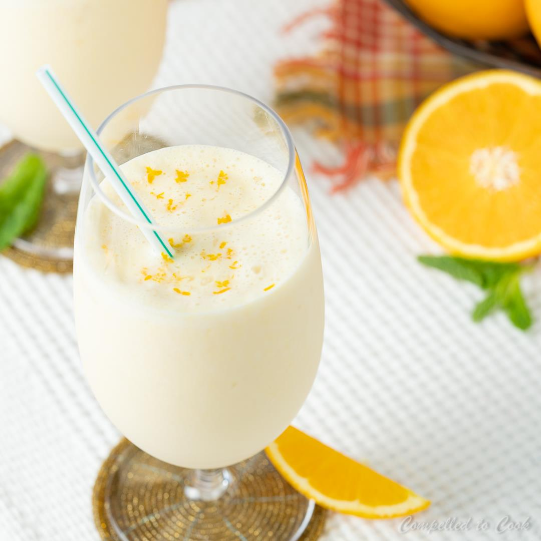 Orange Yogurt Smoothie