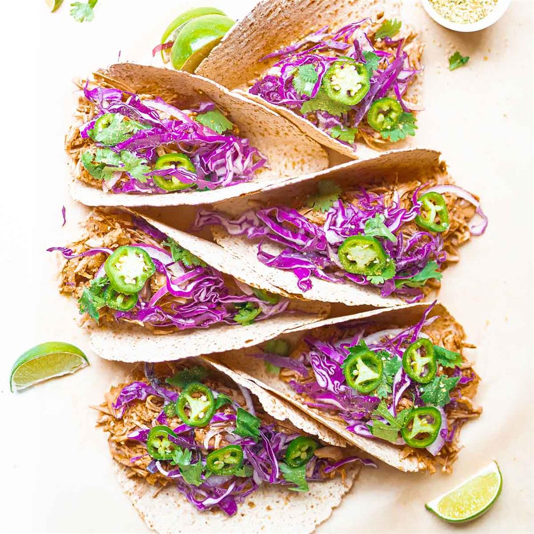 The Best BBQ Jackfruit Tacos
