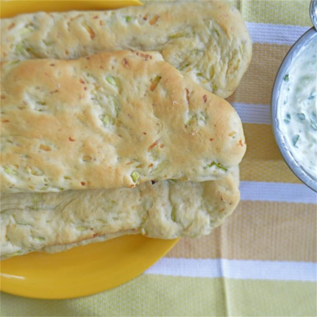 Zucchini Pita Bread — Tasty Food for Busy Mums Easy Delicous Re