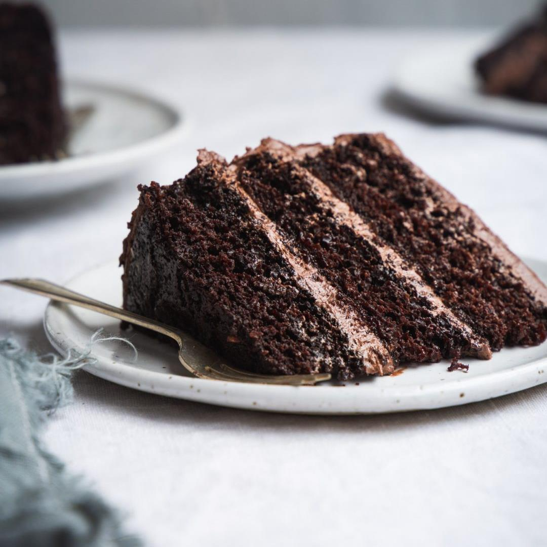 The Best Classic Vegan Chocolate Cake