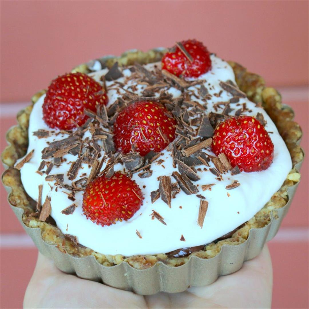 Nutella Summer Tart-Dig Into Fun