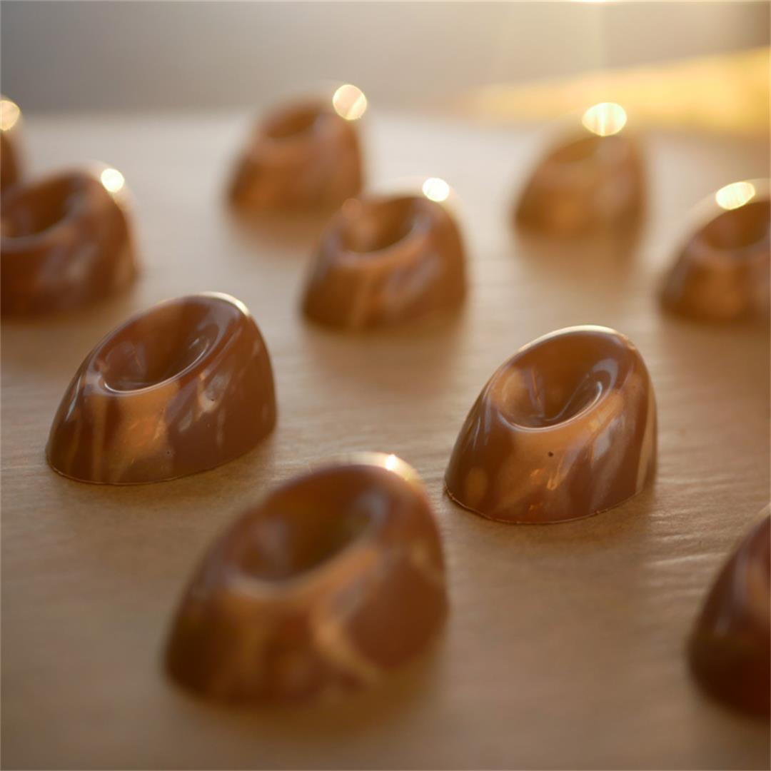 Chocolate Passion Fruit Pralines