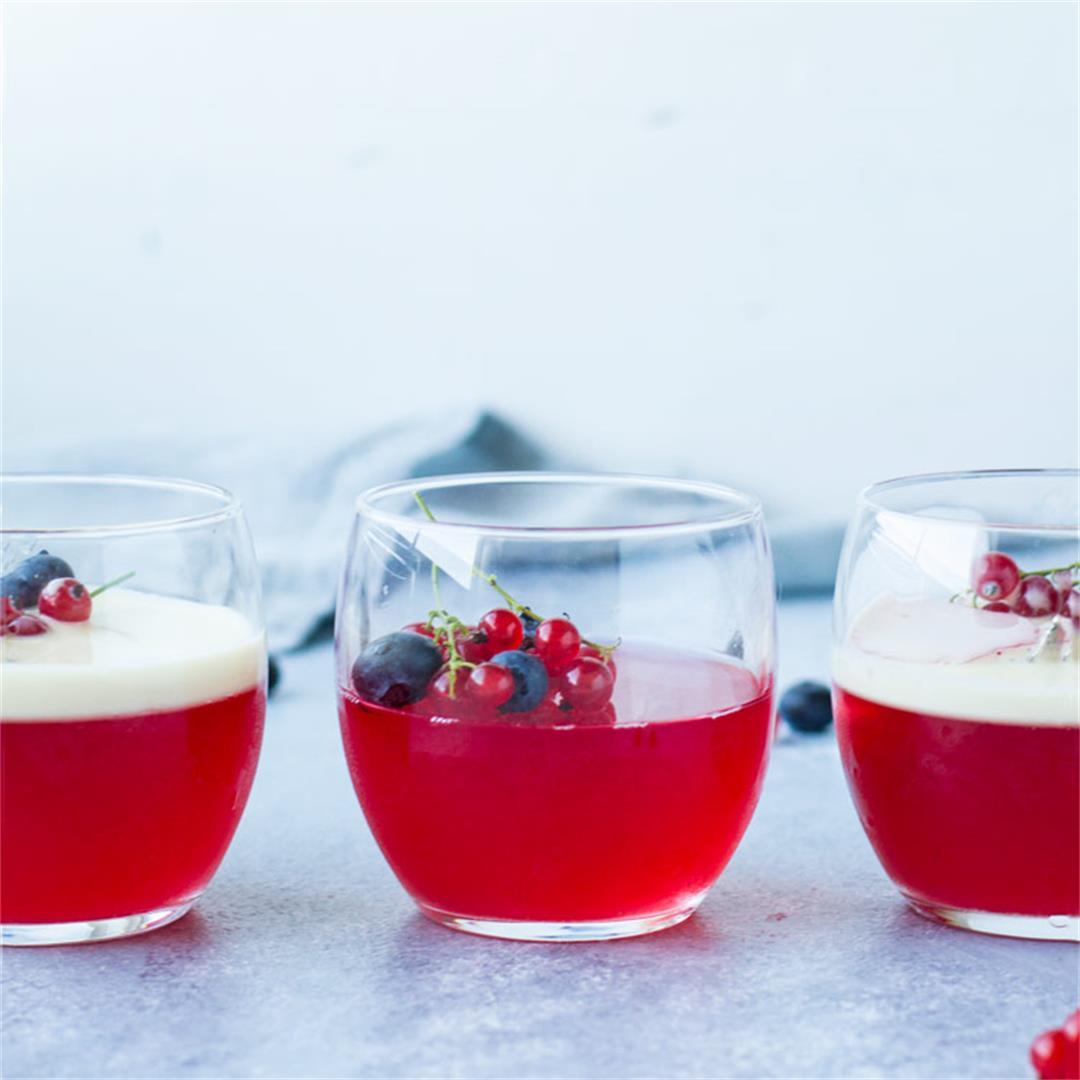 Easy Homemade Jello Recipe with Fresh Fruit (Jelly)