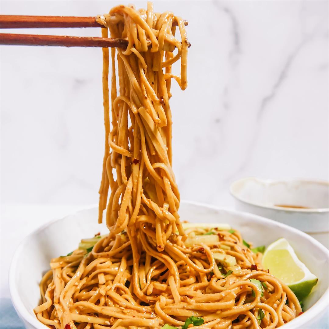 Szechuan Cold Sesame Noodles