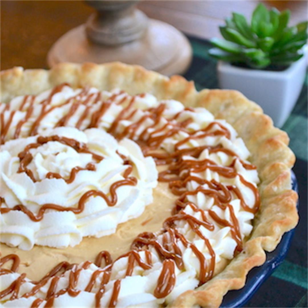 Caramel Cream Pie — Jenny