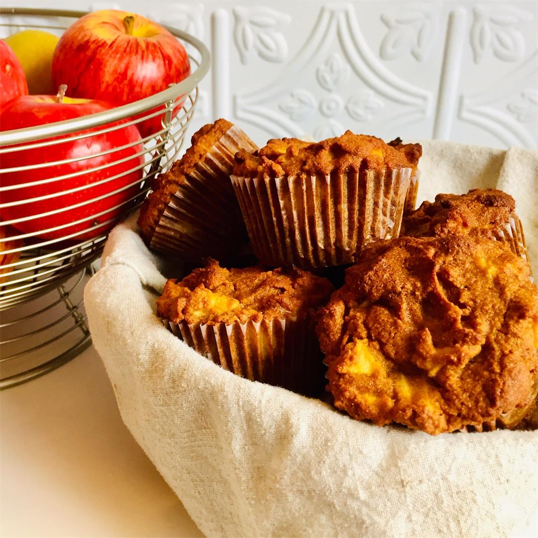 Paleo Apple Muffins — A Sweet Alternative