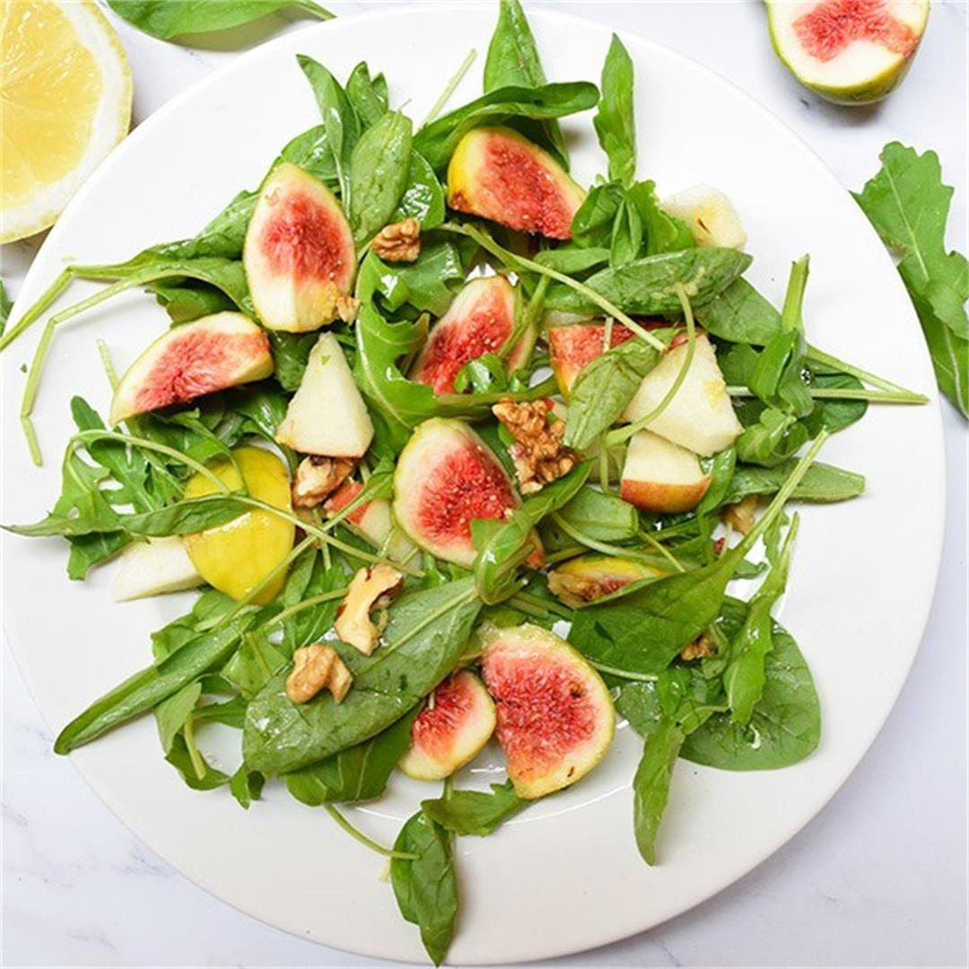 Spinach & Figs Refreshing Salad