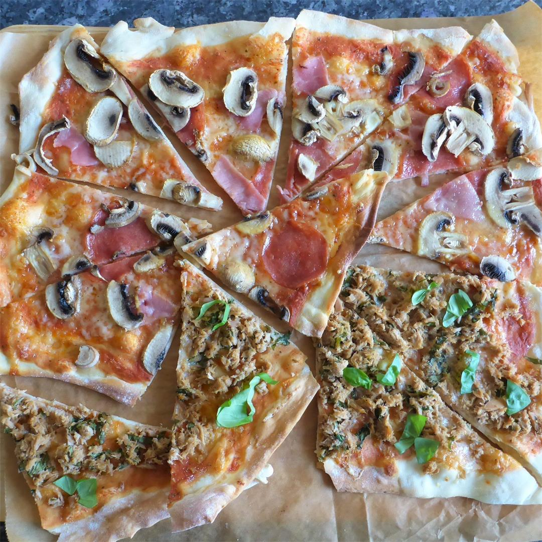 BEST overnight pizza dough recipe