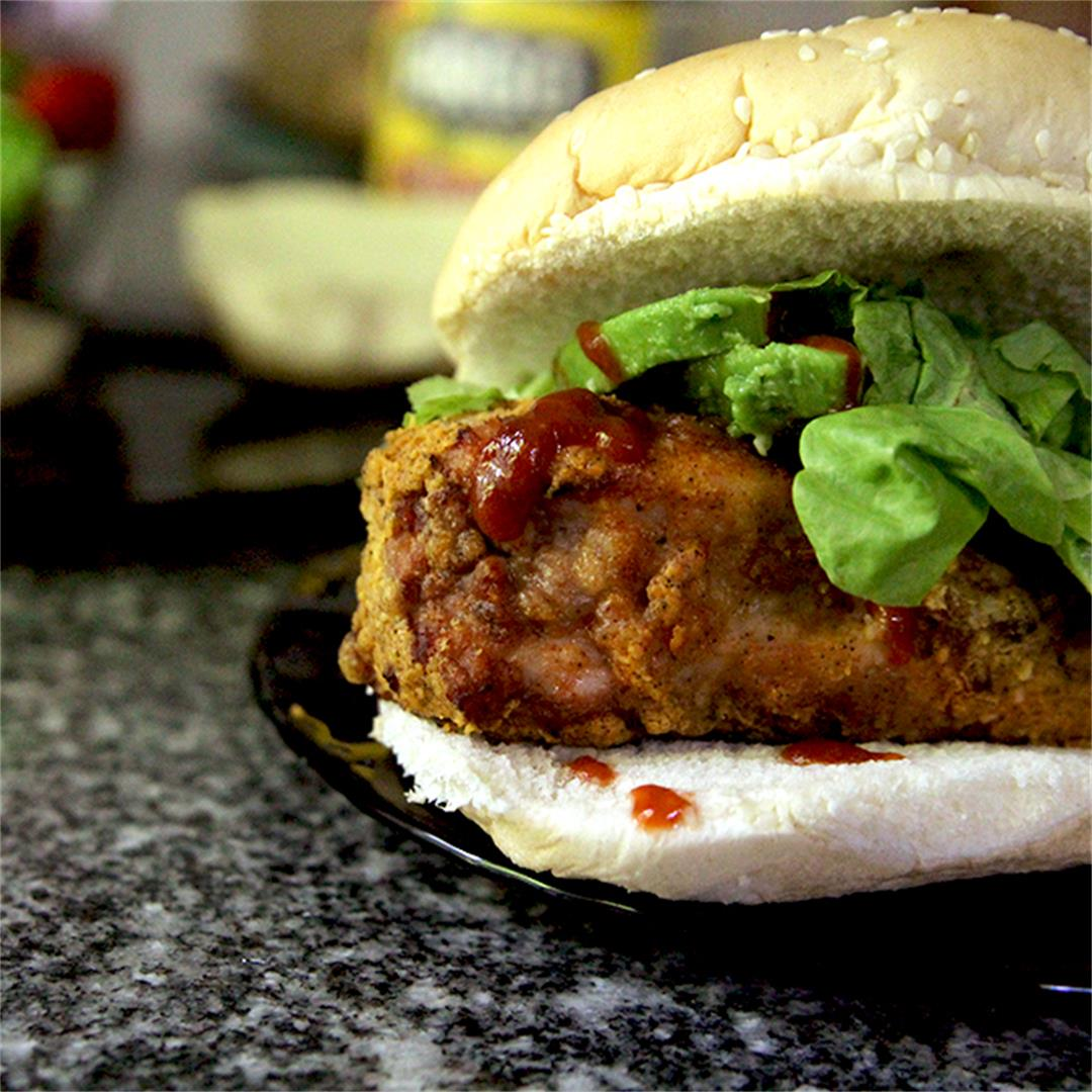 How to Make a Spicy Crispy Chicken Sandwich
