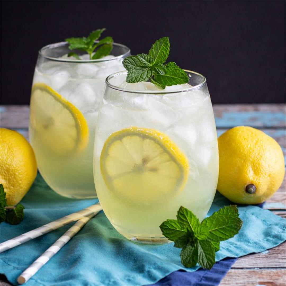 Limoncello Gin Collins Cocktail Recipe