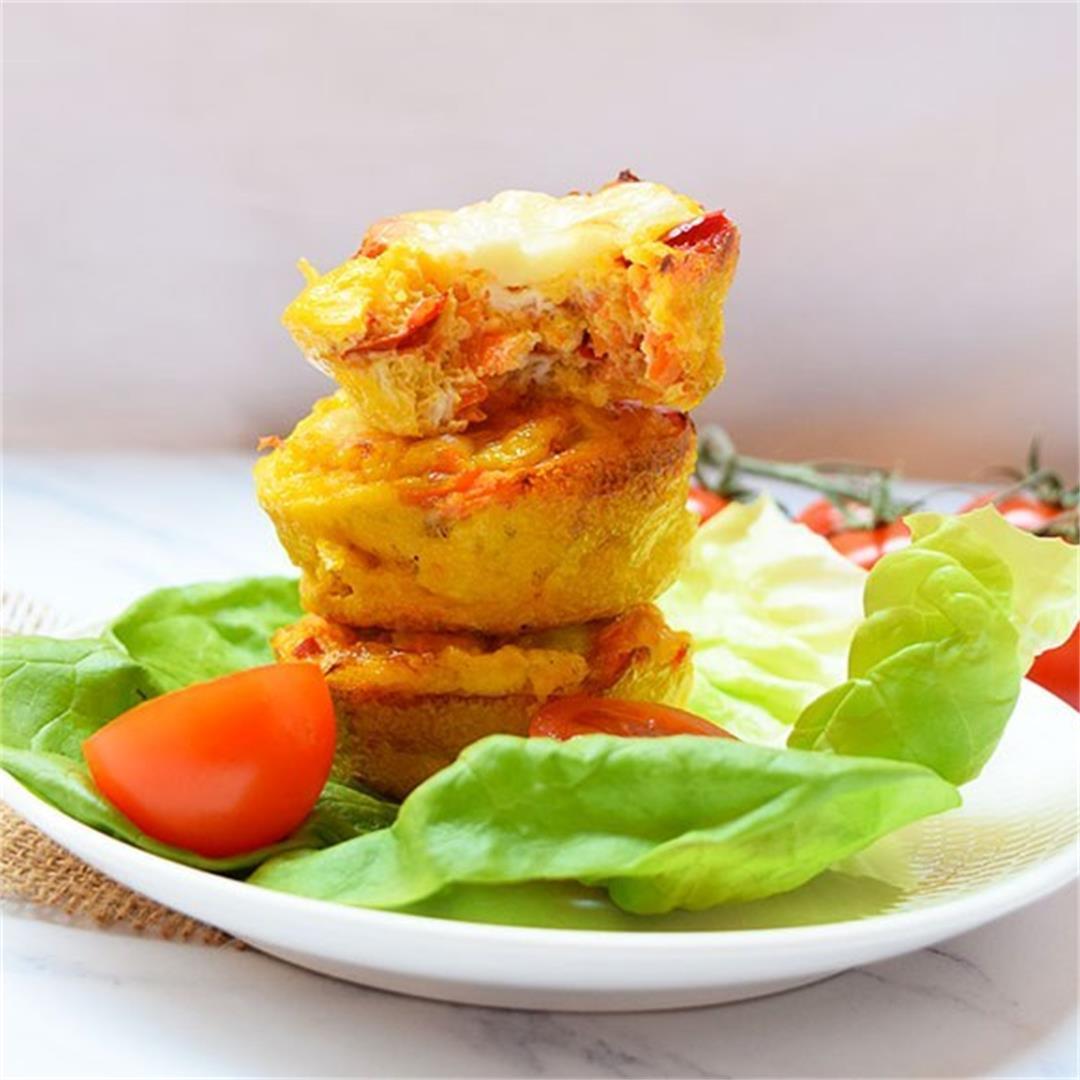 Mozzarella Egg Muffins