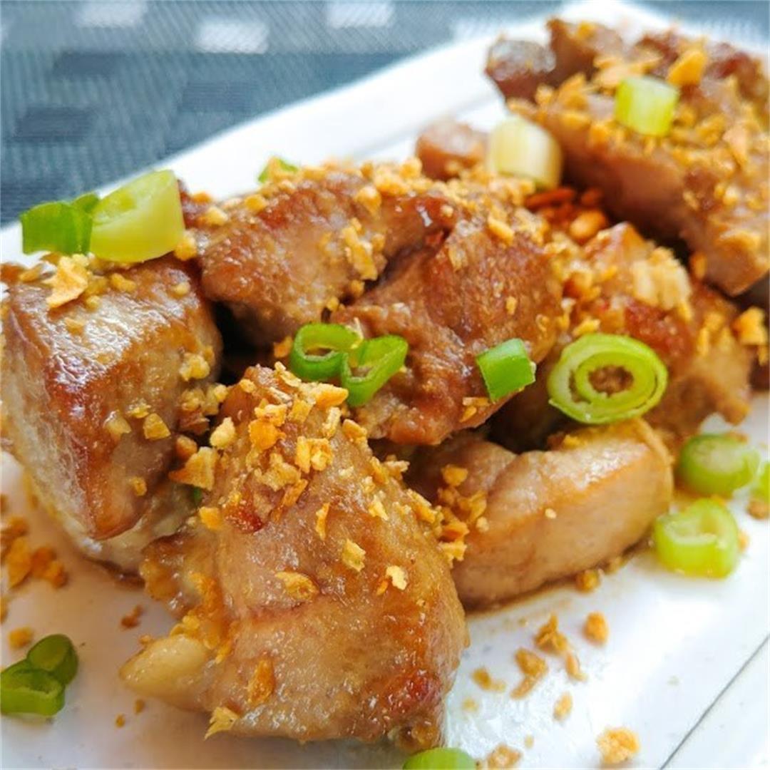 Pork Chop Marinated with Fermented Bean Curd