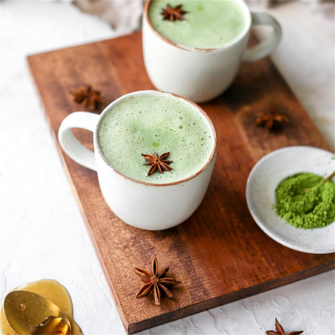 Matcha Latte in 3 Minutes